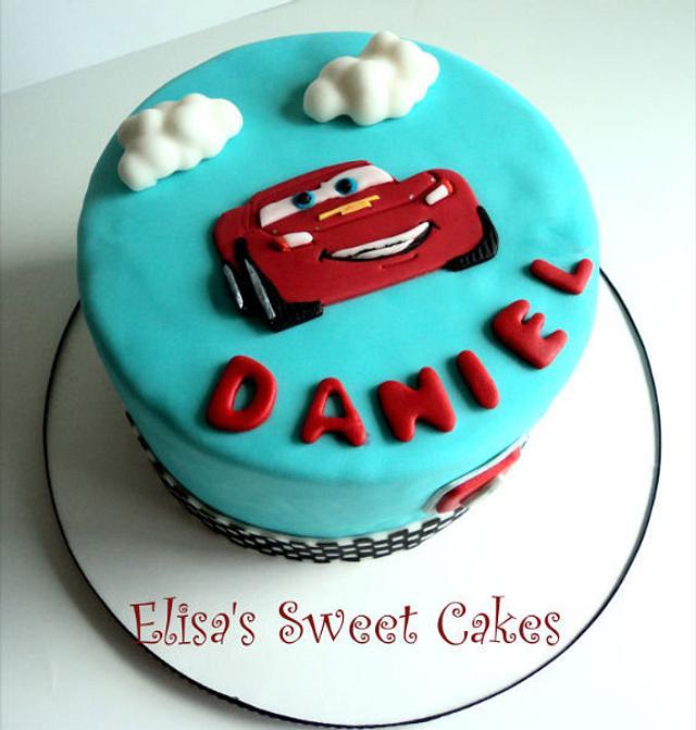 Cars Cute cake