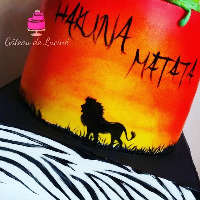 HAKUNA MATATA (all hand painted)