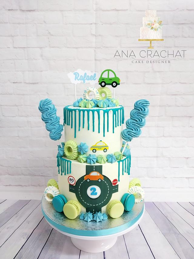 Astonishing Baby Boy Birthday Cake Cake By Ana Crachat Cake Cakesdecor Funny Birthday Cards Online Elaedamsfinfo