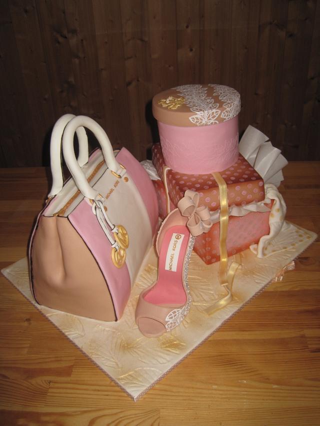 3D Fashion cake Michael Kors