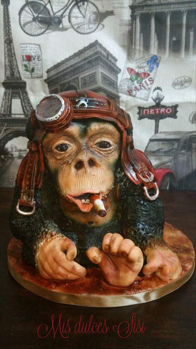 3D Mono de chocolate