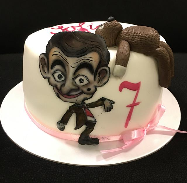 Mr.Bean cake