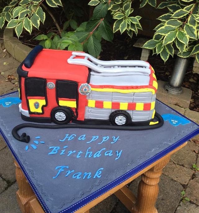 Dublin Firebrigade Cake