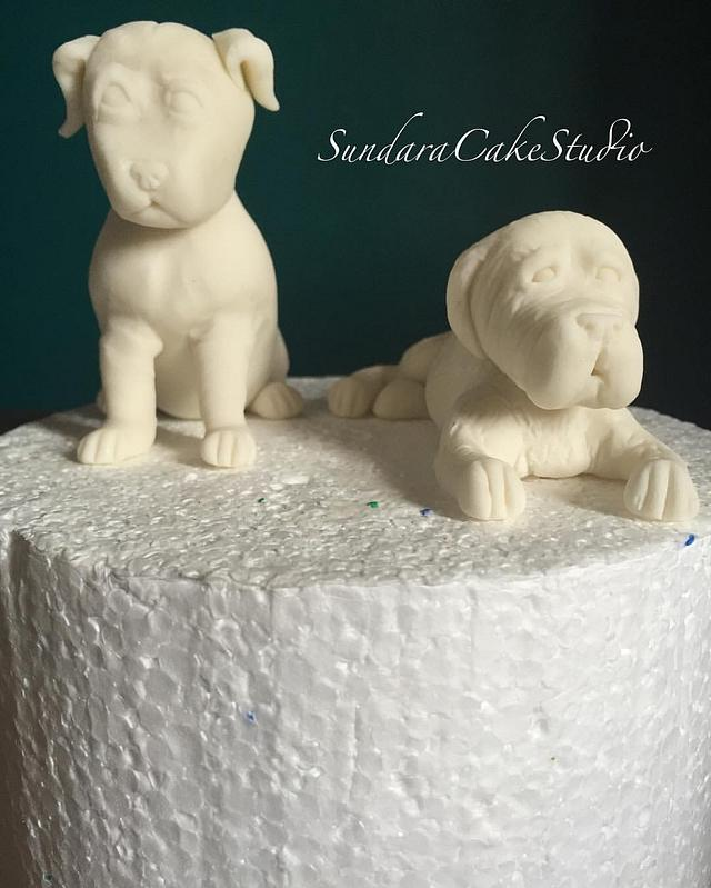 Dog lover's cake