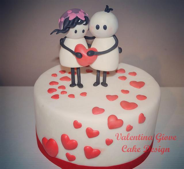 Bigli Migli Cake for Valentine Day