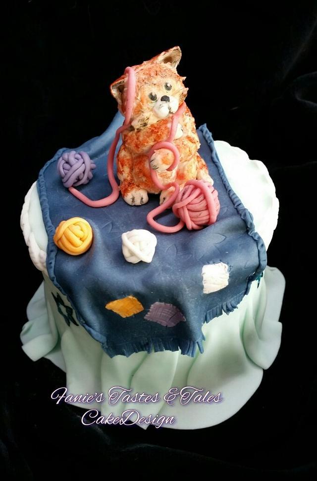 Little Kitten Cake