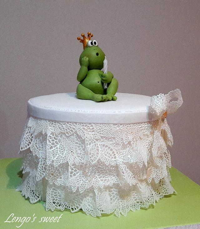 Princess Frog Birthday Cake