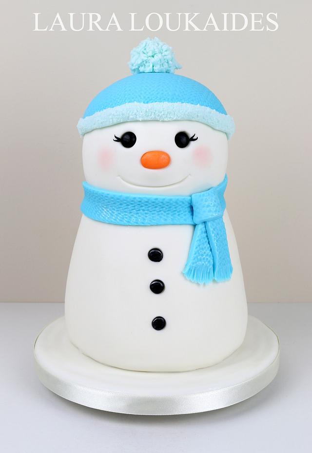 Tinsel the Snowman