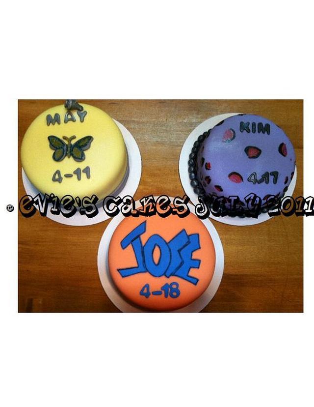 Trio Cakes