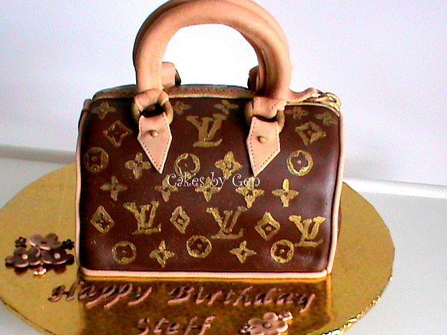 My First Louis Vuitton Bag Cake