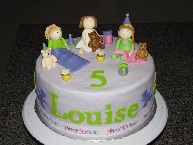 slumber party cake