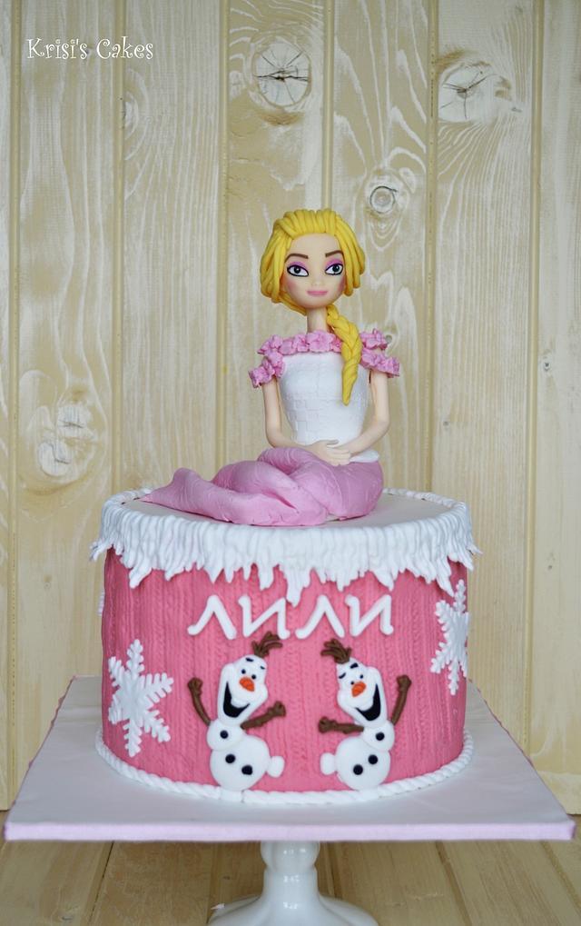 Cake Frozen - Elsa