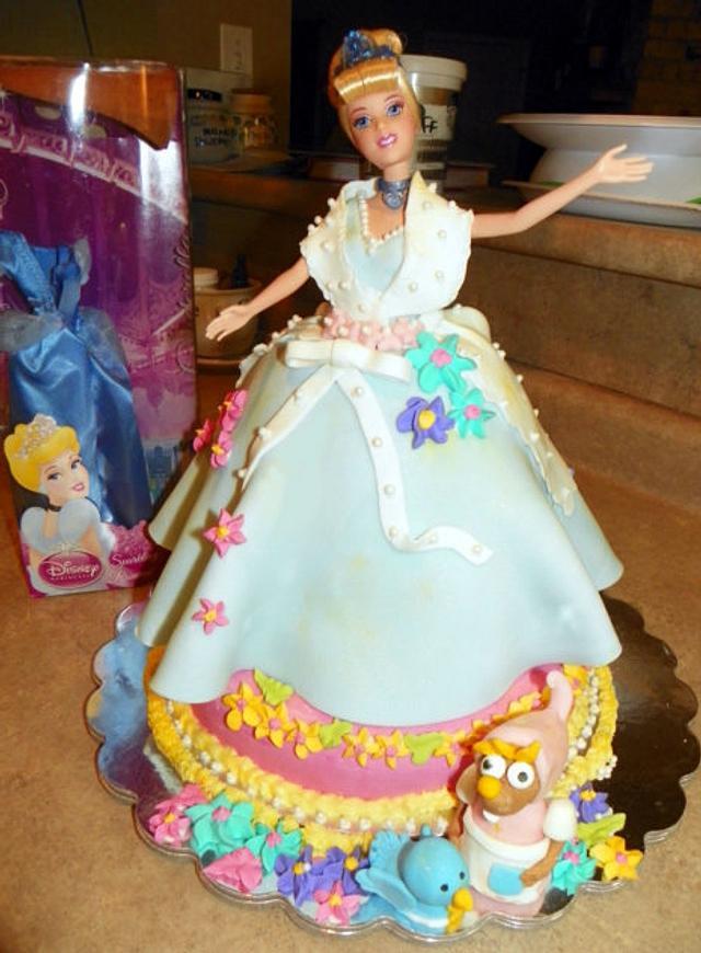 First time 3D Cake - Cinderella