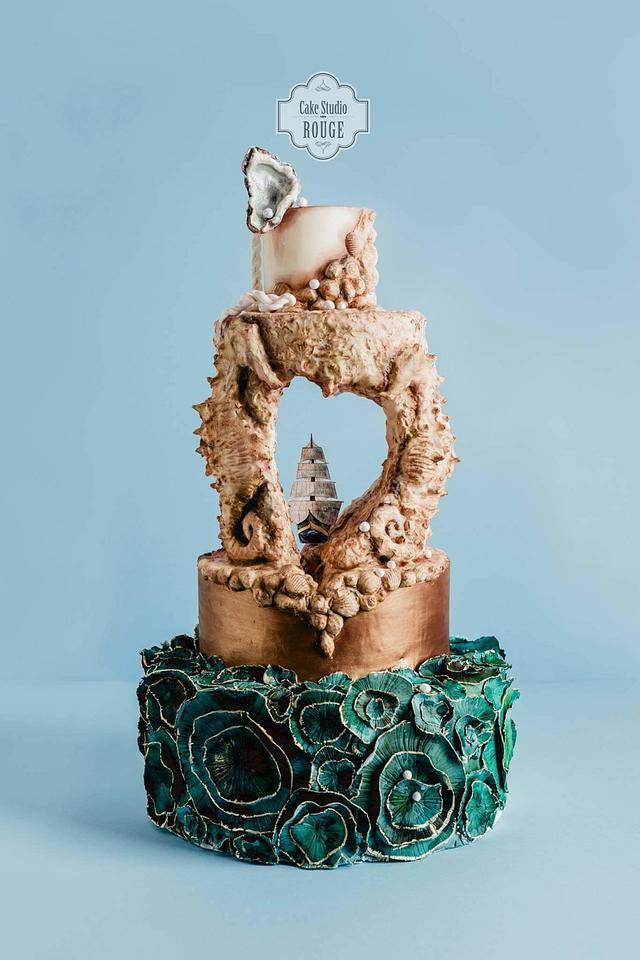 Italian Romance Wedding Cake - cake by Pamela Jane