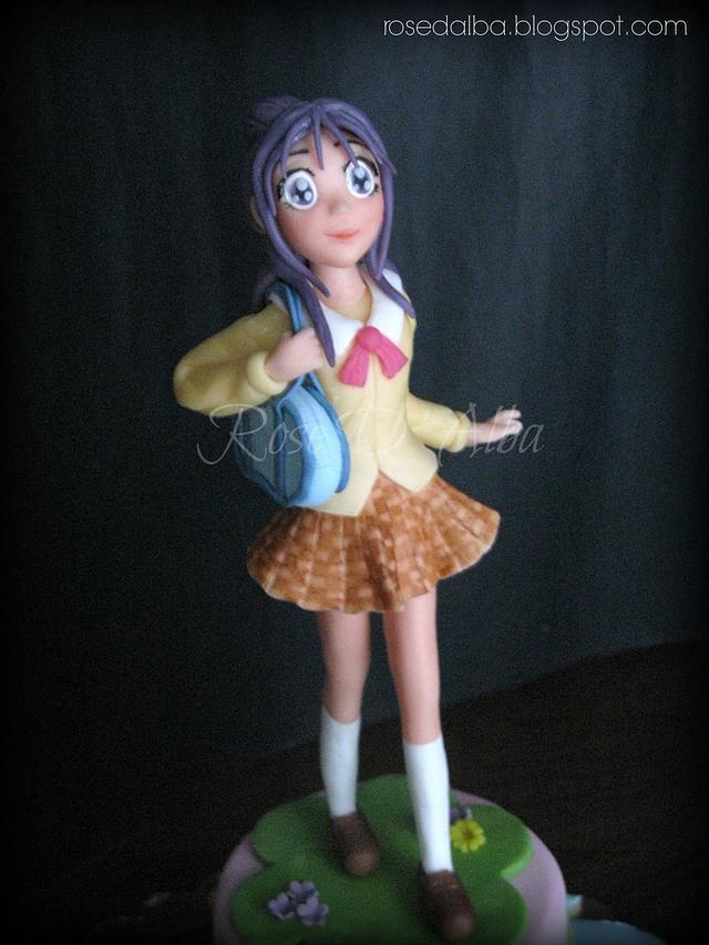 Mai, a cartoon Anime.