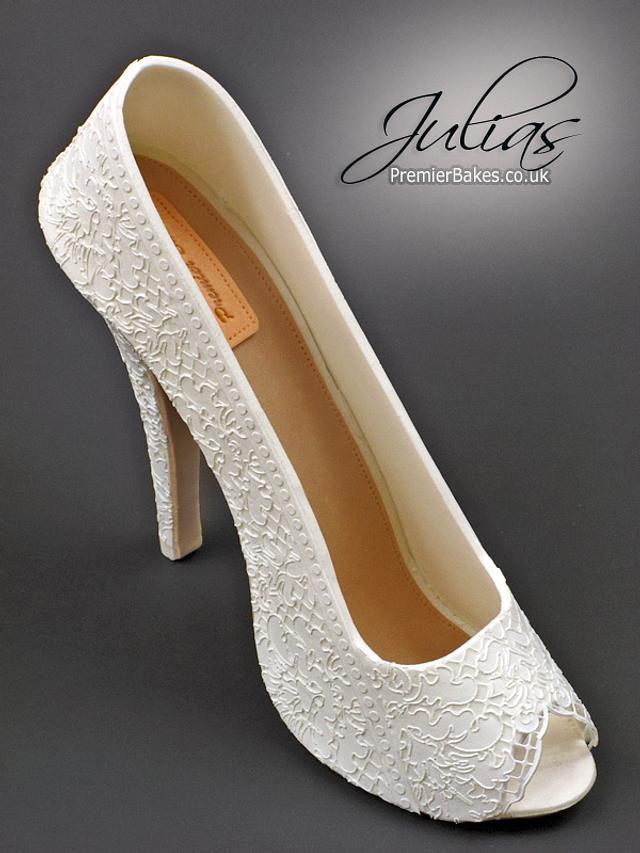 Lace Sugar Shoe topper