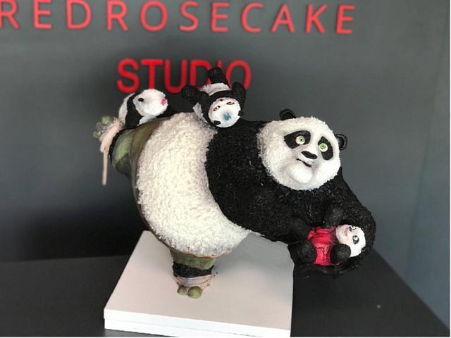 Kungfu Panda 3D Cake