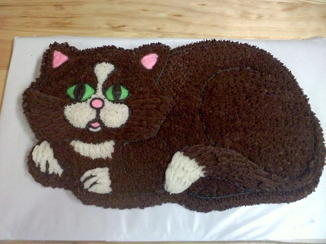 Kitty cay cake