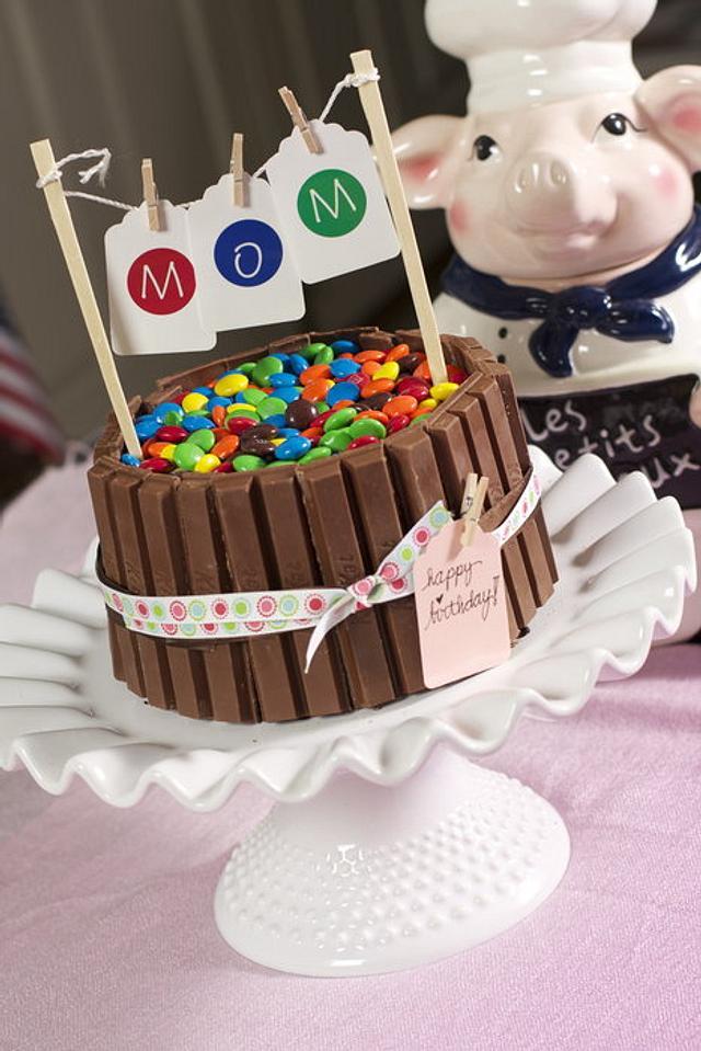 Phenomenal Kitkat Birthday Cake By Lainie Cakesdecor Birthday Cards Printable Opercafe Filternl