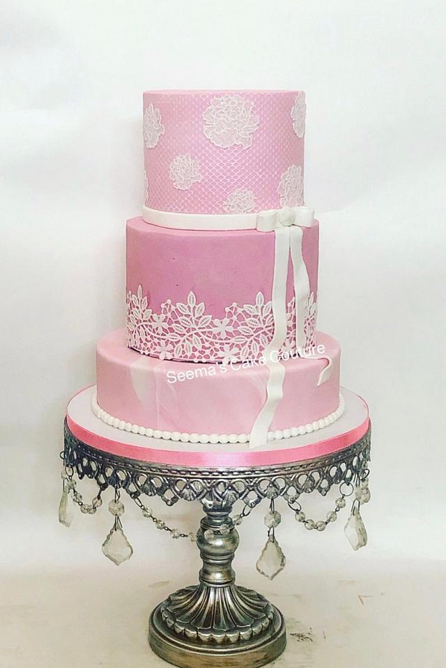 Miraculous Elegant Birthday Cake Cake By Seema Tyagi Cakesdecor Personalised Birthday Cards Veneteletsinfo