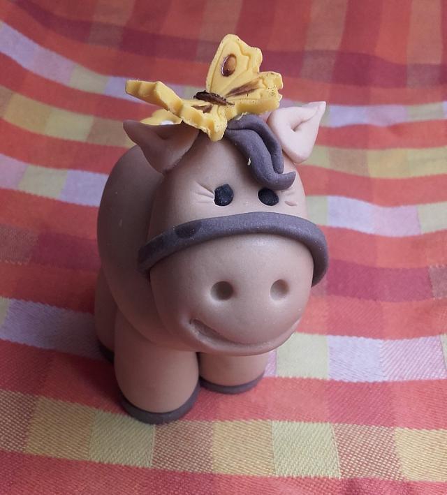 A cute little horse