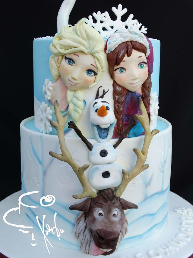 Frozen - Elsa and Anna, Olaf and Sven