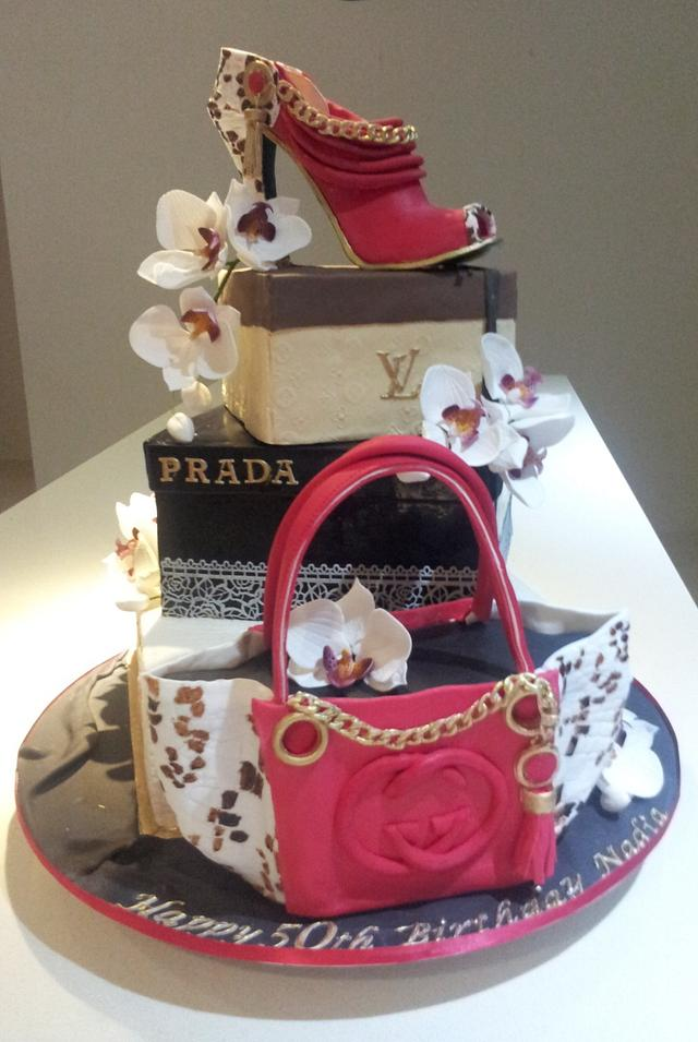 Miraculous Louis Vuitton Prada Gucci Birthday Cake Cake Cakesdecor Funny Birthday Cards Online Alyptdamsfinfo
