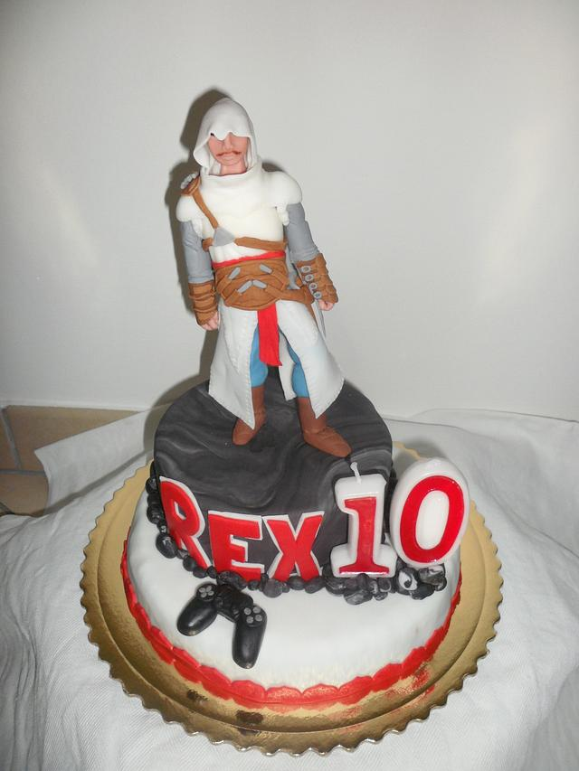 Assassin's creed cake