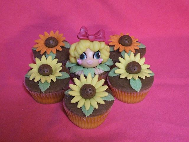Gerberes' cupcakes