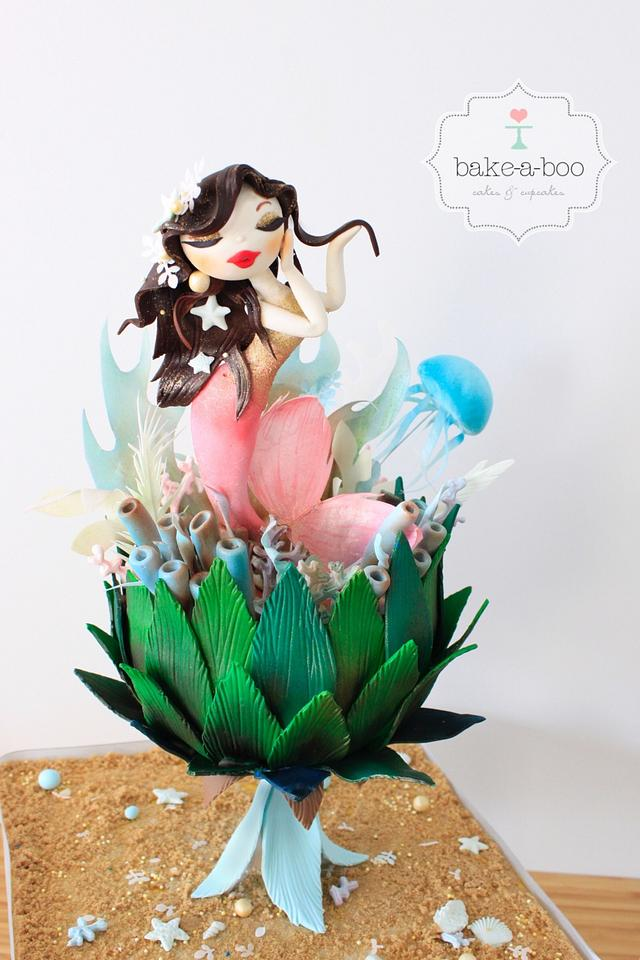 Magical Water Princess - The Under The Sea Sugar Art Collaboration 2017