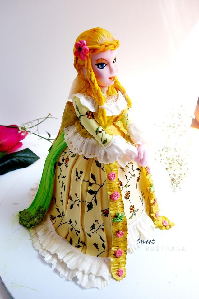 English lady sugar model