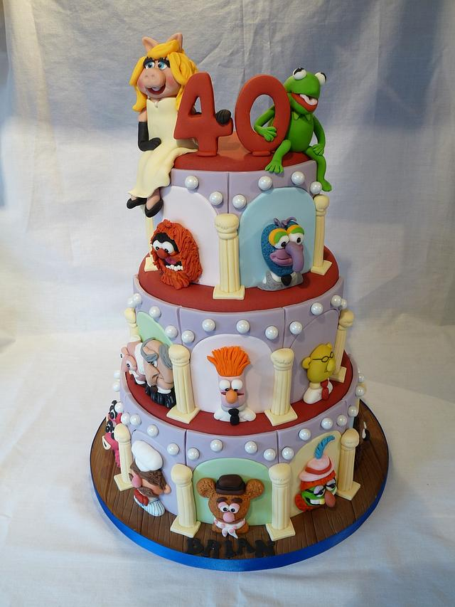 MUPPET SHOW CAKE