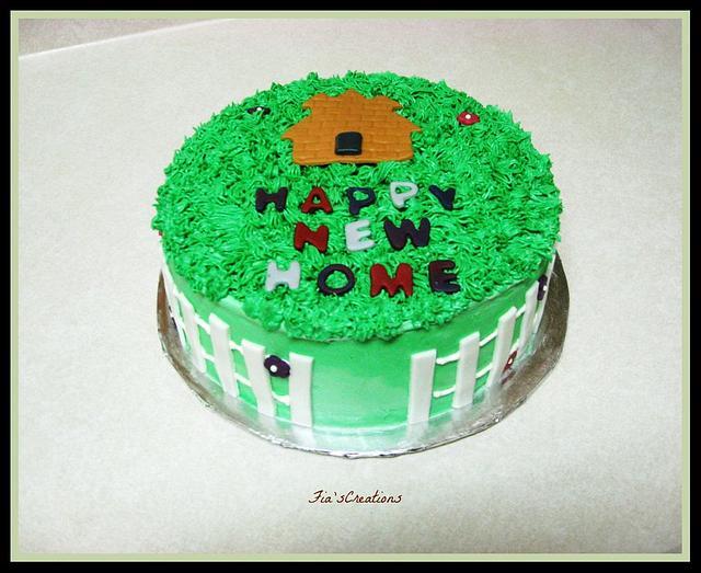 Houewarming Cake