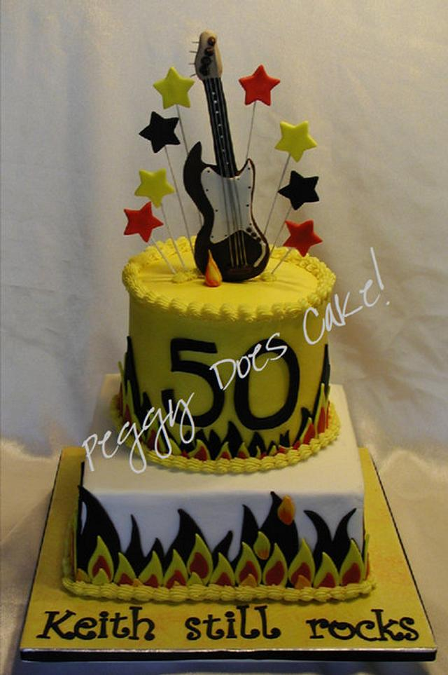 50 Rocks Cake