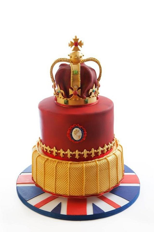 Diamond Jubilee Cake