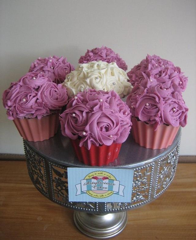 Midi Flower Cupcakes