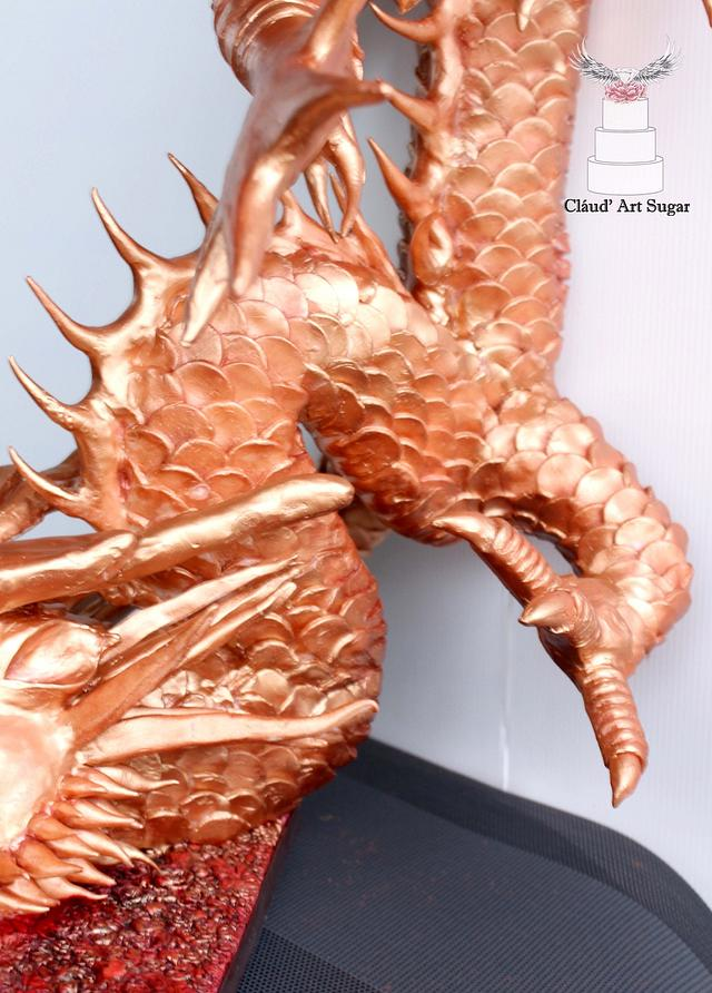 "Japanese Dragon- ""Japan - An International Cake Collaboration"""
