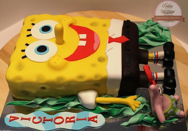 Tarta de Bob Esponja, SpongeBob cake