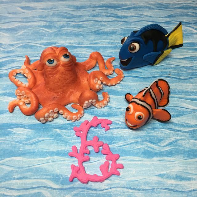Hank, Dory, and Nemo