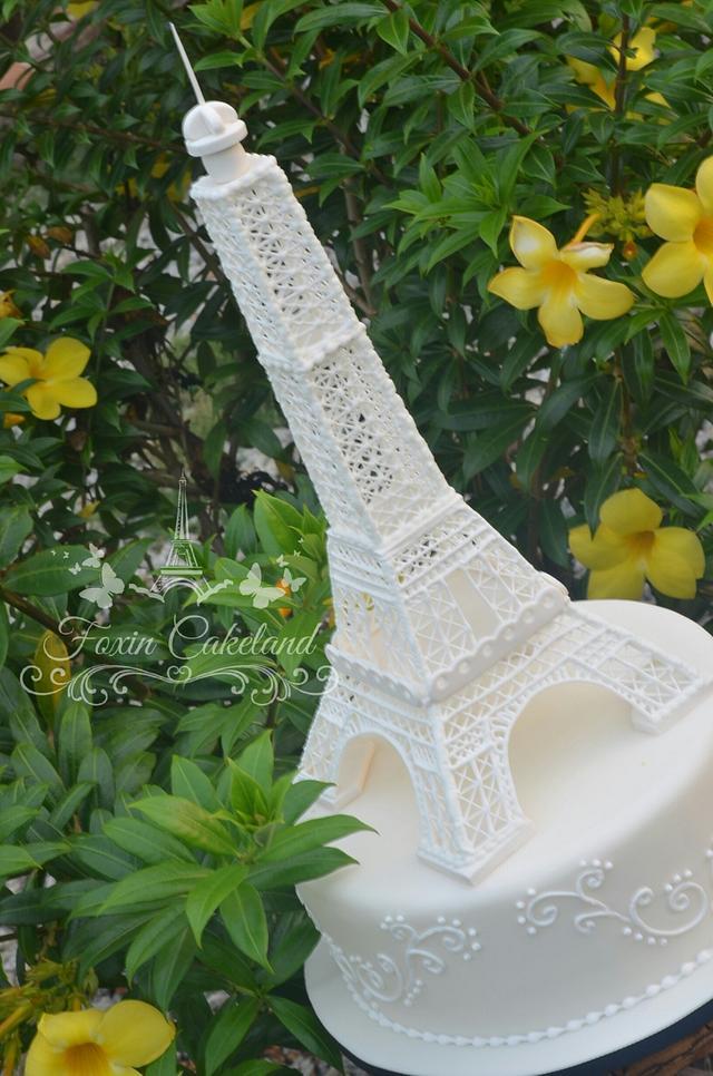Royal Icing Eiffel Tower
