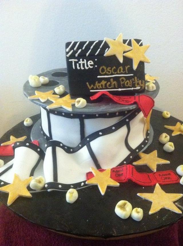 Oscar Party cake