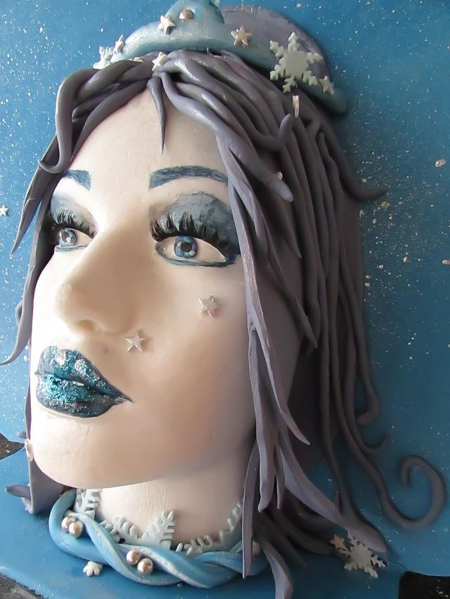 Winter fairy cake