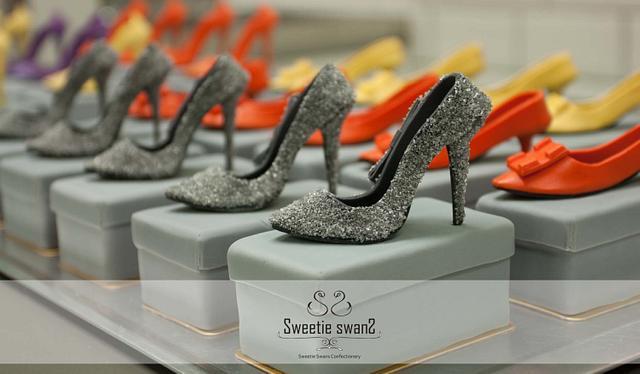 7 cm miniature high heel shoe