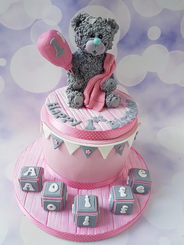 Teddy bear 1st birthday.