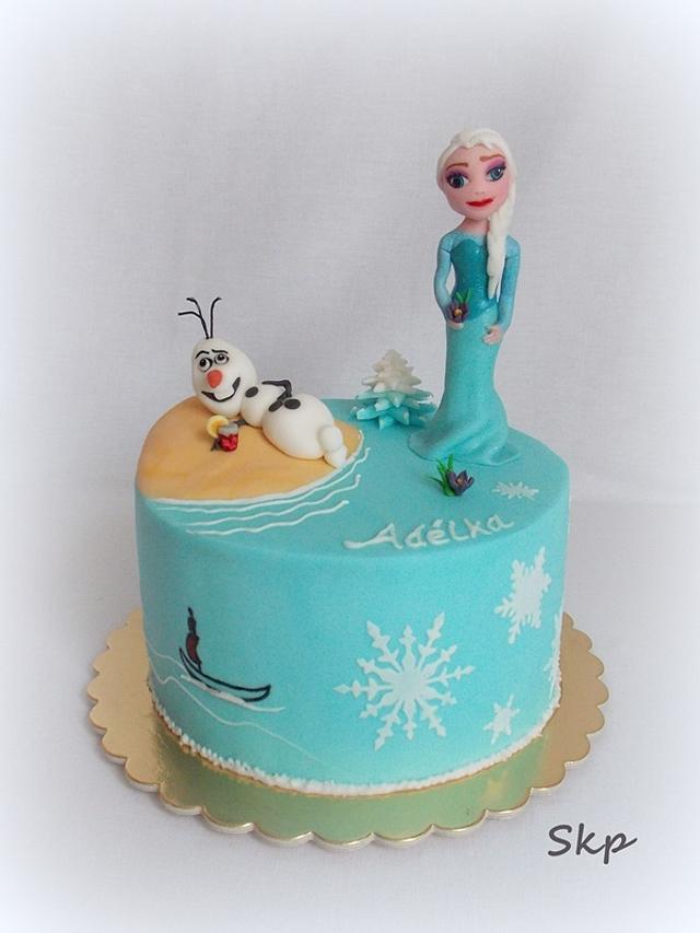 Frozen - Olaf in summer