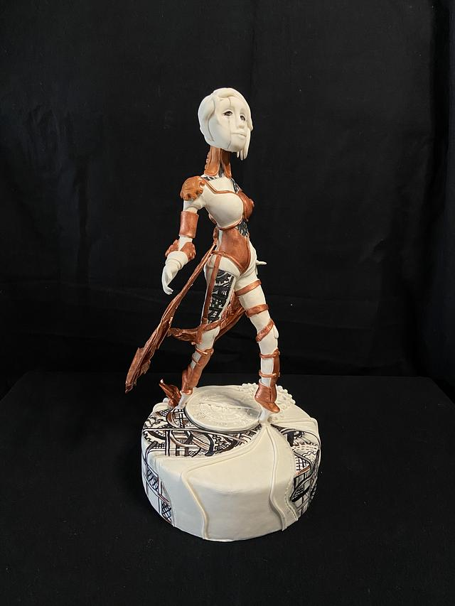 Sci-fi doll /Cake Star Competition