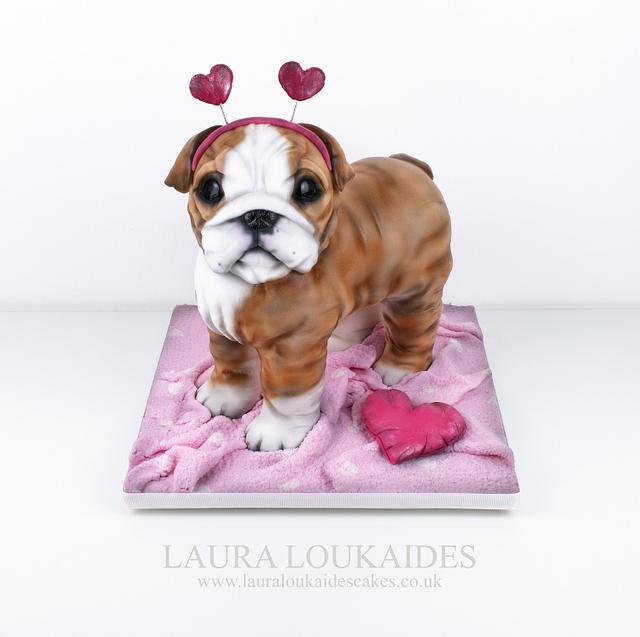Rosa, The Valentine's Bulldog