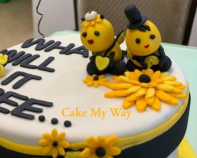 Bee cake