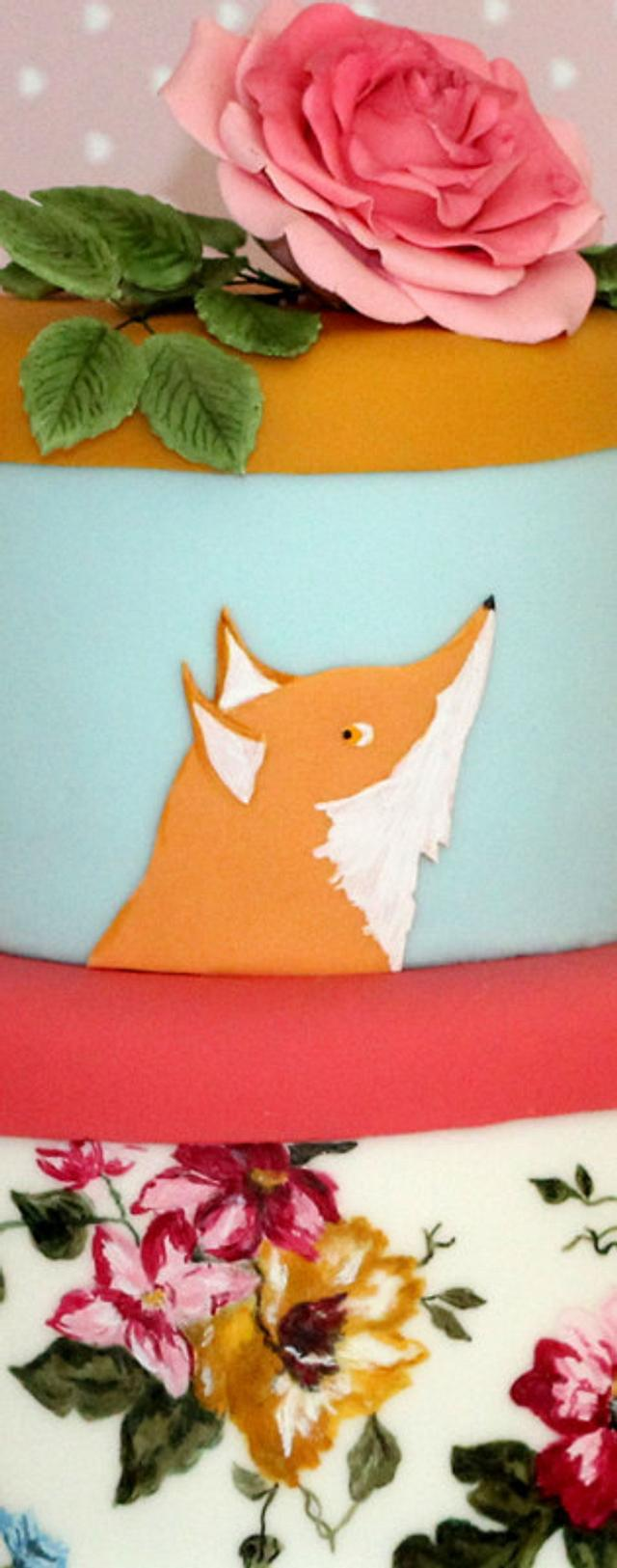 Joules Birthday Cake
