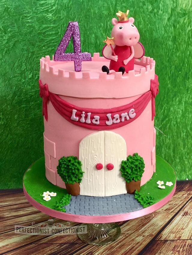 Lila Jane - Peppa Pig Birthday Cake